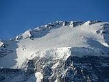 Dhaulagiri North Face Summit Close Up From French Pass 5377m Around Dhaulagiri